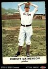 Christy Mathewson Cards and Autograph Guide 4