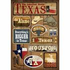 KAREN FOSTER DESIGN TEXAS DALLAS TRAVEL VACATION CARDSTOCK SCRAPBOOK STICKERS