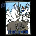 Disney Pin Frozen Starter Collection Set Snowman Olaf  Reindeer Sven
