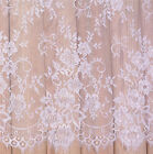 59 Vintage French Bridal Lace Fabric Chantilly Wedding Dress Eyelash Lace 3m