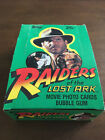 RAIDERS OF THE LOST ARK TRADING CARD EMPTY DISPLAY BOX TOPPS 1981 INDIANA JONES