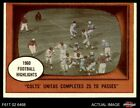 1961 Topps Football Cards 6