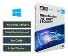 New Bitdefender Internet Security 2019 for Windows  1  3 Years  e Delivery