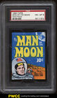 1969 Topps Man On The Moon Wax Pack PSA 8 NM-MT (PWCC)