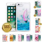For iPhone 7 8/7 Plus 8 Plus TPU Shock Proof Glitter Waterfall Phone Case Cover