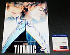 !! KATE WINSLET 8x10 Titanic Rose Autographed Picture Poster Signed PSA JSA !!