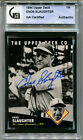 1994 Upper Deck All-Time Heroes ENOS SLAUGHTER Signed Card GAI Slabbed Auto HOF