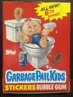 1986 Garbage Pail Kids Original Series 6 Box 48 Unopened Packs GPK sku#C-P-54