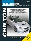 Repair Manual Chilton 64303 fits 02-14 Subaru Impreza