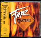 Fair Warning Fair Warning Japan CD w/obi AOR  WMC5-518