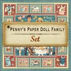 Graphic 45 PENNYs PAPER DOLL FAMILY 8 12x12 Paper Collection