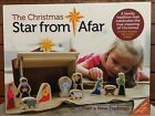 The Christmas Star From Afar Wooden Nativity Set  Book 16 pieces Child 3+