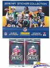 2016 Panini Nfl Football Stickers Massive 50 Pack Factory Sealed Box With 350 St