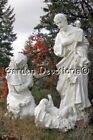 Best Nativity Set Yet 39 inch Indoor Outdoor White Jesus Mary Joseph Statues