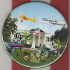 ANTI OBAMA WHITEHOUSE 35 INCH POLITICAL BUTTON PIN THERE GOES THE NEIGHBORHOOD