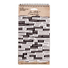Tim Holtz Idea ology Big Chat Stickers
