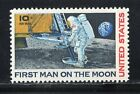 FIRST MAN ON THE MOON  1969 APOLLO 11  US Postage Stamp Mint