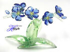 FORGET ME NOT COLORFUL FLOWERS 2018 SWAROVSKI CRYSTAL SIGNED BY ARTIST 5486892 S