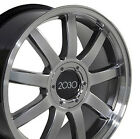 18 Wheels SET of 4 RS4 Style Rims For Audi A3 A4 A6 A8 TT 5X112 18x80 Inch