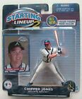 2001 STARTING LINEUP2 - SLU2 - MLB - CHIPPER JONES - ATLANTA BRAVES