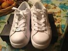 Womens Converse White Leather sneakers size 65