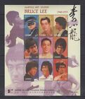 R171 Gambia MNH Famous People Bruce Lee Martial Art Legend China