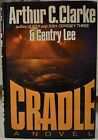 1988 ARTHUR CLARKE GENTRY LEE Sci Fi Novel CRADLE First Edition VG HCDJ