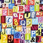 LETTERS NUMBERS 79 ADHESIVE FILM Shelves Liner Sticker Room Decor Contact Paper