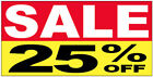 SALE 25 OFF Vinyl Banner Clearance Promotion Sign 2X4 ft ryb