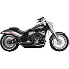 Vance  Hines 47235 HD Exhaust Shortshots Staggered Black 2018 Soft Tail