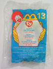 NEON™ The SEAHORSE #13 Ty™ MINI BEANIE BABY McDonalds HAPPY MEAL TOY SEALED 1999