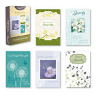 Paper Craft Card Boxed Sympathy Box Of 10 NEW