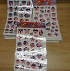 Wholesale Lot 101 USA Patriotic Stickers Scrapbooking 4th of July 62 SHEETS