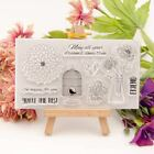 Chrysanthemum Transparent Silicone Clear Rubber Stamp Diary Scrapbooking DIY
