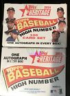 2-2014 Topps Heritage High Number Sealed Factory Sets-one Auto Set- Free S H