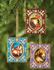 3 Nativity of Christ Holy Family Icon Wall Pendants Christmas Ornaments Gift WOW