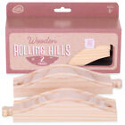Train Track Rolling Hills (2-pack) | Wooden Toy Train Accessories