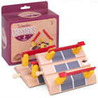 Train Track Crossings (2-pack) | Wooden Toy Train Accessories