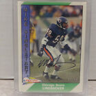 Recollection Collection 1991 Pacific Mike Singletary Bears ON CARD Auto #13 15