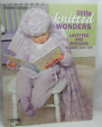 Leisure Arts Little knitted Wonders Layettes  Afghans Toddler Knit Patterns