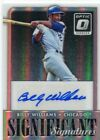 2016 Donruss Optic Significant Signatures #25 Billy Williams Auto - NM