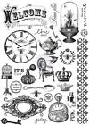 Prima PRINTERY Cling Mounted Stamp Mixed Media Planner Mixed Media 28pc 551056