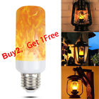 E27 LED Flicker Flame Light Bulb Simulated Burning Fire Effect Xmas Party Lamp