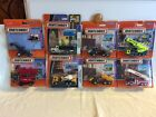 Matchbox Real Working Rigs Crane Fire Truck Flatbed Harvester Mixer Dump Trac