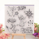 Peace Joy Shine Bright Transparent Clear Rubber Stamp Diary Scrapbooking DIY