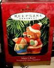 Mary's Bears`1999`Little Christmas Bears-Hallmark Tree Ornament-