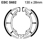 EBC Organic Brake Shoes and Spring Kit S602 for Hyosung RT 125 D Karion 07-15