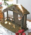 Nativity Stable Stucco 10x14x6 for 5 inch Scale Nativity Set People