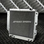 3 ROW TRI CORE FULL ALUMINUM RACING RADIATOR 87 06 JEEP WRANGLER YJ TJ 24 42