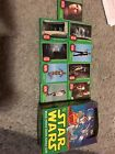 1977 Star Wars green series 4 Topps trading cards 166 Cards And Original Box